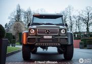 Topspot: Mercedes-Benz G63 AMG 6x6 in legertintje