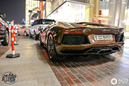Stijlvolle Lamborghini Aventador LP700-4 Roadster gespot