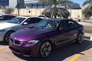 Nieuw kleurtje voor de BMW M3: Twilight Purple