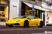 Spot van de dag: kanariegele Lamborghini Huracán