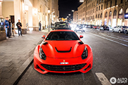 Gespot: beestige Ferrari Novitec Rosso F12 N-Largo