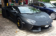 Strange sighting: Lamborghini 'batmobile' in Brazilië