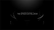 Spyker Cars is terug van weggeweest: welkom C8 Preliator!