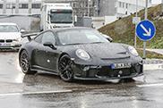 Nieuwe Porsche 991 GT3 is onderweg