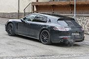 Spyshots: new version of the Porsche Panamera