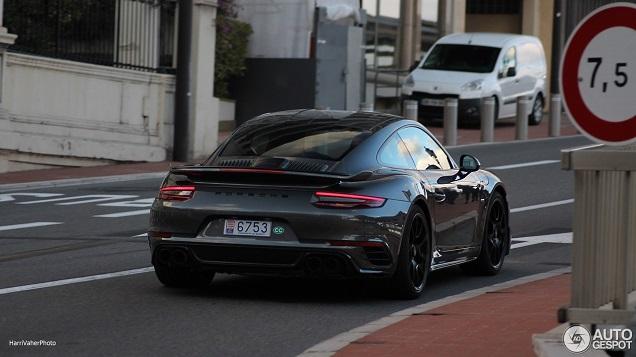 Porsche 991 Turbo S Exclusive Series gespot in Monaco