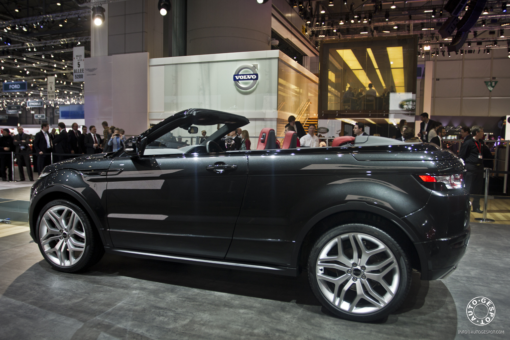 gen ve 2012 range rover evoque convertible concept. Black Bedroom Furniture Sets. Home Design Ideas