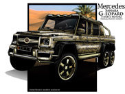 Mercedes Sahara G-eopard: one-off by Dartz