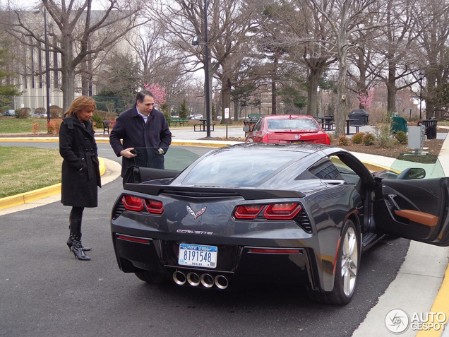 The Corvette Stingray is on the streets!