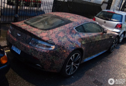 Crazy wrap: Aston Martin V12 Vantage