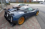Rare Pagani Zonda Tricolore spotted in Switzerland