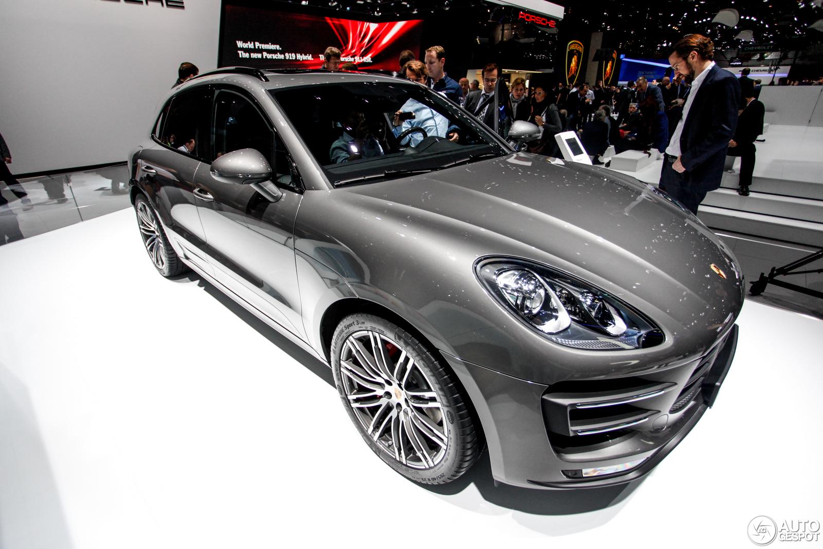 Geneva 2014: Porsche Macan