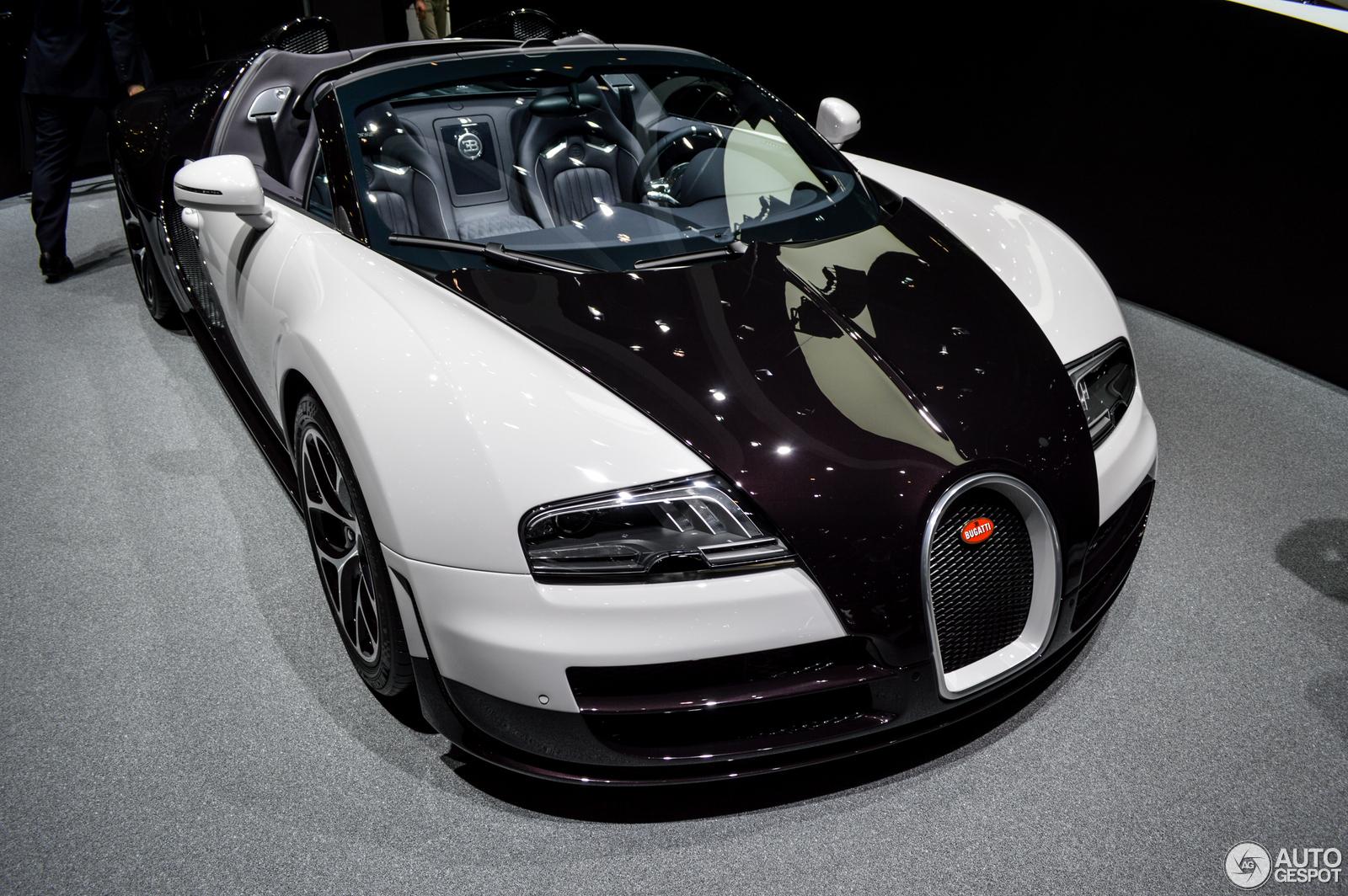 Geneva 2014: Bugatti Veyron 16.4 Grand Sport Vitesse