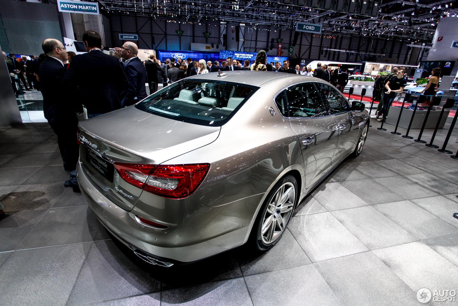 Geneva 2014: Maserati Quattroporte Ermenegildo Zegna Limited