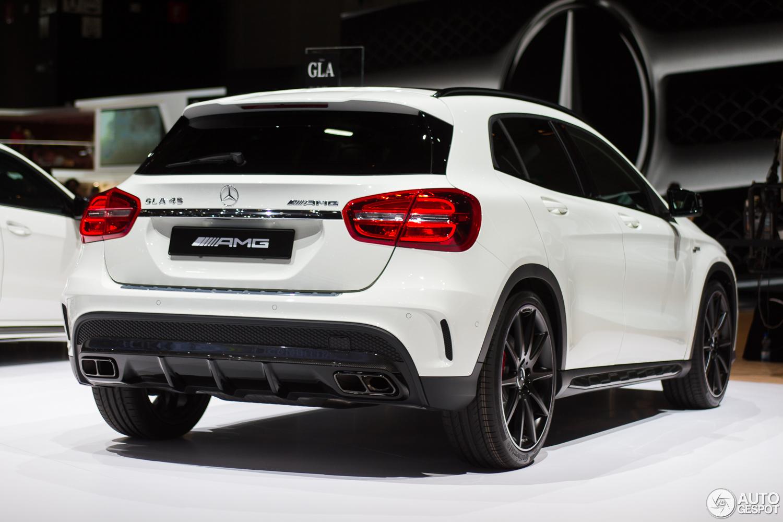 Mercedes-Benz GLA 45 AMG Teaser - YouTube