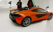 Movie: the McLaren 570S in real life