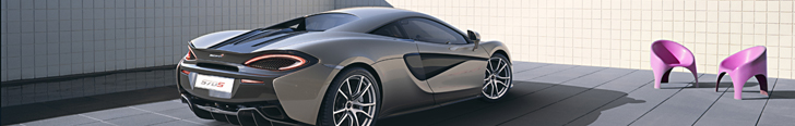 Now official: McLaren 570S