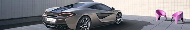 Now official: McLaren 570S