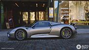 Topspot: Porsche 918 Spyder in Finland