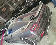 Ingenomen Koenigsegg Agera R staat stof te happen in China