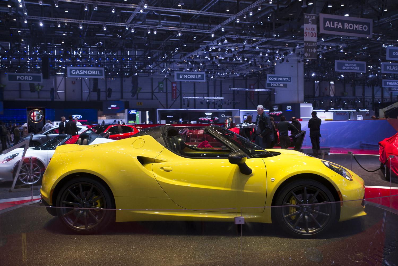 Geneva 2015 Alfa Romeo 4c Spider