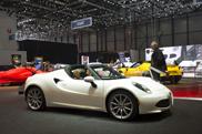 Geneva 2015: Alfa Romeo 4C Spider