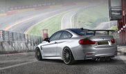 Carbon fiber and power upgrade for BMW M4 by Alpha-N Performance