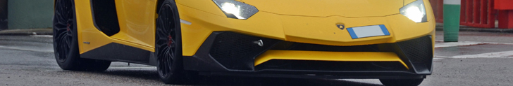 New Lamborghini SuperVeloce shows up at Circuit de Catalunya