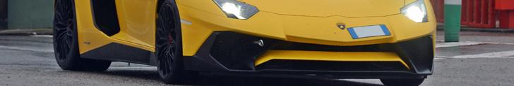 New Lamborghini SuperVeloce shows up at Circuit de Catalunya