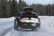 Bentley Bentayga spotted with less camouflage