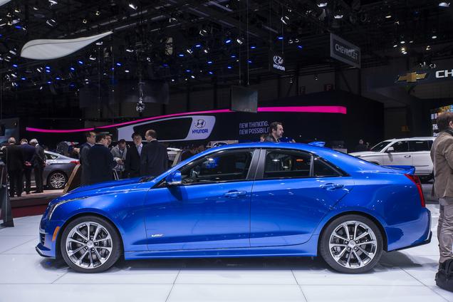 Geneva 2015: the brutes from Cadillac