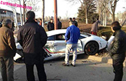 Lamborghini crasht in China