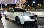 Arab transforms his Mercedes-Benz E 63 AMG S to a 'Black Series'