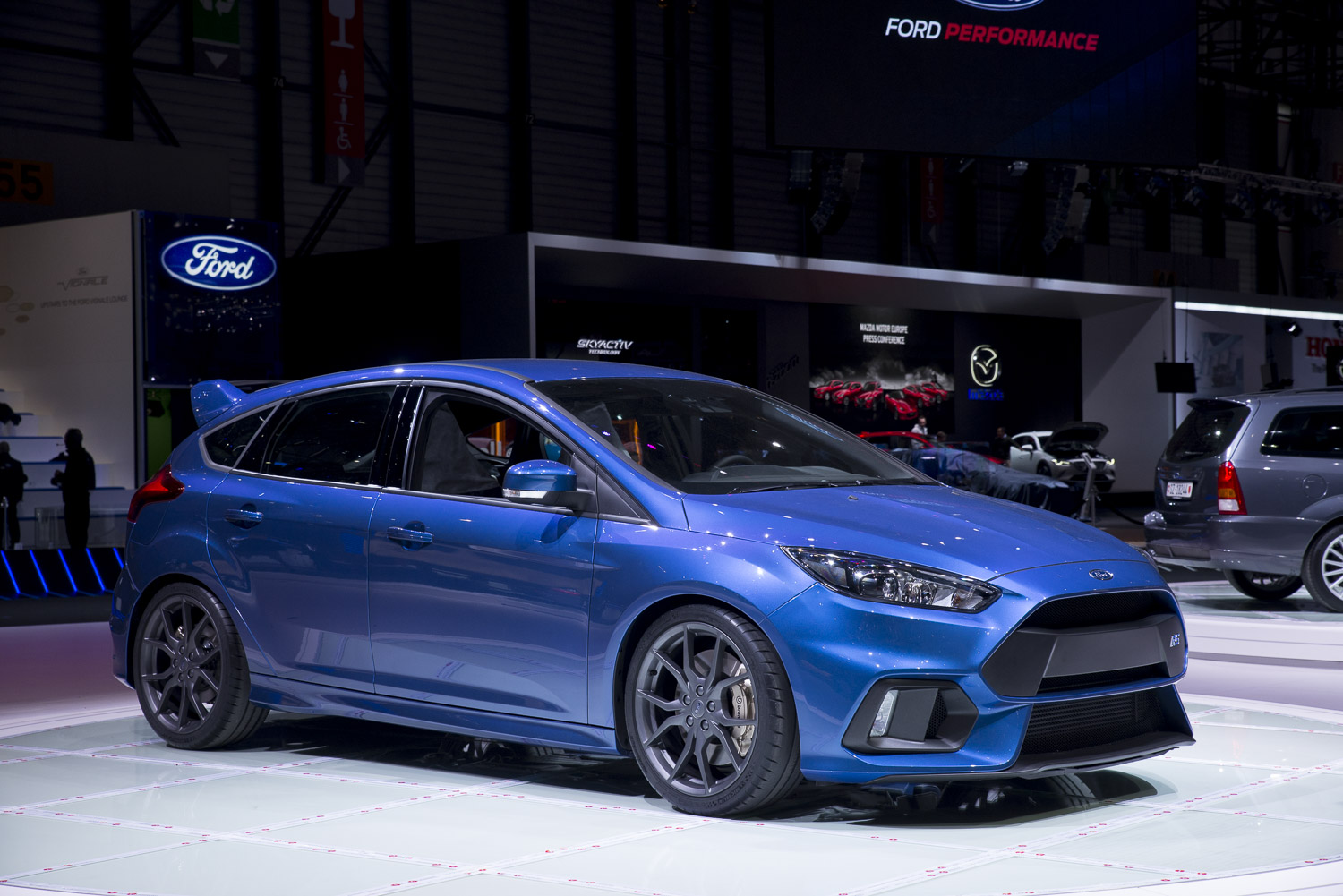 geneva 2015 ford focus rs. Black Bedroom Furniture Sets. Home Design Ideas