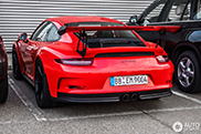 Eerste Porsche 991 GT3 RS gespot