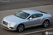 Spotted: new Bentley Continental GT 2016