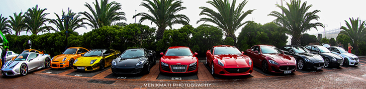 Event: Last Lion Lifestyle Supercar run