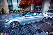 Gespot in Dubai: Mercedes-Maybach S600