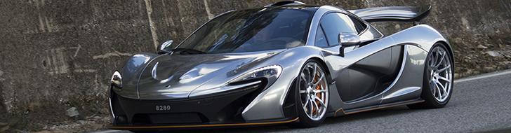 Timeless beauty: McLaren P1