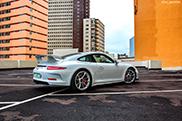 Porsche 991 GT3 vastgelegd in Durban