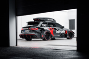 Jon Olsson's Audi RS6 DTM is ready and anomalous
