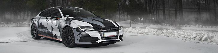 Audi S7 Sportback sfeervol vastgelegd in Kiev