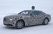 Spyshots Rolls-Royce Wraith Drophead Coupé