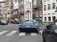 Lichtblauwe EB110 GT verrast in Ukkel