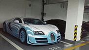 Beautiful Bugatti Veyron 16.4 Super Sport shows up in China