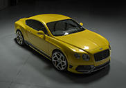 Vorsteiner gives the Continental GT some yellow details