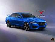 Rendering: Jaguar XFR-S is close to reality