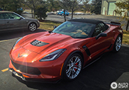 First Corvette Z06 Convertible spotted