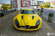 1 van de 9 Alfa Romeo's TZ3 Stradale gespot