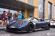 Pagani Zonda 760 AG Roadster spotted for the first time